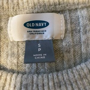 Old Navy light gray sweater size S